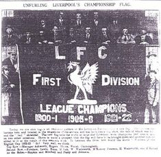 The story of the Liverpool FC crest - LFChistory - Stats galore for Liverpool FC! Liverpool Badge, Liverpool Football Club, Champion, Banner, Flag, History, Poetry, Banner Stands, Historia