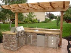 outdoor kitchen designs | Because the words outdoor kitchen design ideas mean that the kitchen ...