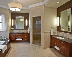 Everyone Needs His And Her Sinks In Bathroom Tuscan Modern Master