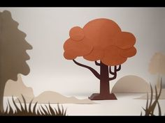 "Hi friends, after a long wait we now have completed ""Save Trees"" stop motion animation, using origami technique. This is our first try with origami animation. Cut Out Animation, Clay Animation, Animation Stop Motion, Animation Tutorial, Flipbook Animation, Fire Animation, Animation Storyboard, Animation Reference, Cartoon Background"