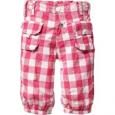 oilily pook pants - I have some big check pink gingham. I should try to make this somehow.