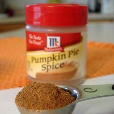 Dry Mix - Pumpkin Pie Spice