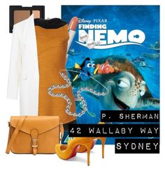 Finding Nemo by queenofelegance on Polyvore featuring polyvore fashion style Proenza Schouler Alexander Wang Christian Louboutin Aspinal of London NARS Cosmetics Marc Jacobs clothing