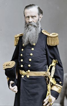 John Lorimer Worden (1818 - 1897), U.S. admiral in the American Civil War ... commanded the Monitor against the Confederate vessel Virginia (originally known as the Merrimack) in first battle of ironclad ships in 1862.