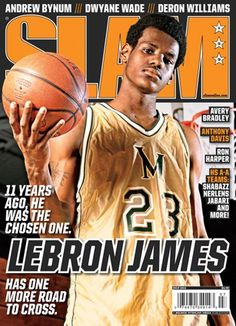 Lebron 11 years ago