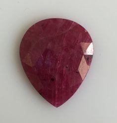Enhanced Very Good Cut Oval Opaque Loose Natural Rubies Natural Ruby, Loose Gemstones, Pear, Nature, Naturaleza, Nature Illustration, Off Grid, Bulb, Natural