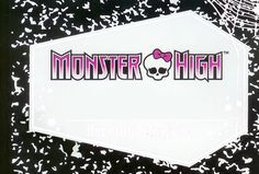 Monster High Diary Base by *JackandDannysGirl on deviantART