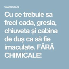 Cu ce trebuie sa freci cada, gresia, chiuveta și cabina de duș ca să fie imaculate. FĂRĂ CHIMICALE! Easy Canning, Canning Recipes, Probiotic Diet, Watch Diy, Easy Recipes For Beginners, Homemade Pickles, Semi Homemade, Vintage Cooking, Mother Earth News