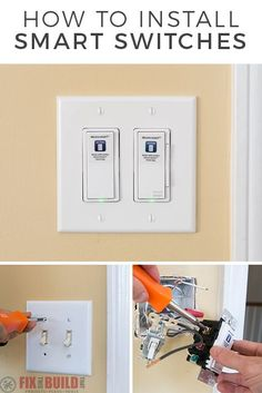 How-to Replace Old Light Switches   Home // Improvements + DIY   Diy