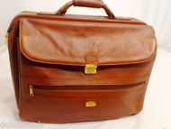 WEBA Handmade Leather Executive Business Travel Bag, Suitcase