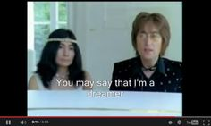 """""""You may say I'm a dreamer, but I'm not the only one. I hope someday you'll join us, and the world will live as one...""""  -John Lennon  http://mrmck.wordpress.com/2014/11/08/myths-dreams-hope/"""