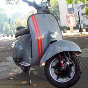 Vespa V50: RAL 7000 Fehgrau