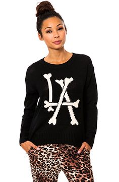 Bones Sweater use rep code: OLIVE for 20%off!