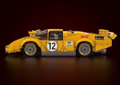 Far from following a pre-made kit, these brick-laying maestros built two Ferrari icons