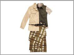 Safari style - with skirt