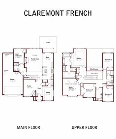 "Arbor Custom Homes: ""Claremont"" floorplan"