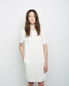 Raquel Allegra / Mojave Boxy Tee Dress #ss14