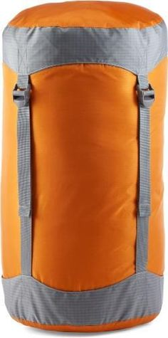 REI Co-op Lightweight Compression Stuff Sack Orange Spice 21 Liter