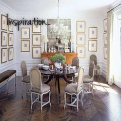 Love circle table for formal dining room