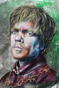 Tyrion Lannister game of thrones art print poster geek watercolor acrylic home decor wall art wall decor Illustration canvas Game Of Thrones Comic, Game Of Thrones Art, Home Decor Wall Art, Geek Stuff, Fan Art, Ipod 5, Cosplay, Watercolor, Art Prints