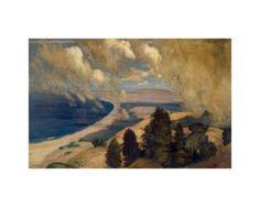 Pacific Parnassus, Mount Tamalpais, ca. 1905 Giclee Print by Arthur Bowen Davies at Art.com