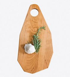 Geometric Wood Serving Board by Butternut Brooklyn on Scoutmob