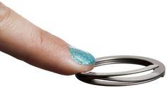 Nail saving keyring
