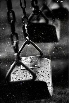 Rainy days // black and white photography