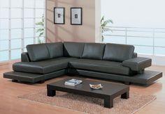 Contemporary Leather Sofa  http://www.sofaideas.co/contemporary-leather-sofa/ #Contemporary, #Leather, #Sofa