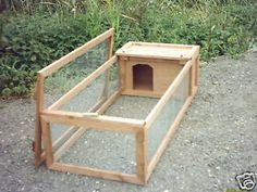 5 X 2 Guinea Pig/rabbit Run With Hut Shelter for sale online Guinea Pig Run, Diy Guinea Pig Cage, Guinea Pig House, Cute Guinea Pigs, Rabbit Cages Outdoor, Indoor Rabbit, Outdoor Rabbit Hutch, Rabbit Hutch Plans, Rabbit Hutches