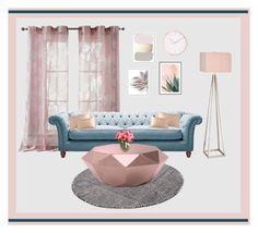 """Untitled #88"" by faizuradidja on Polyvore featuring interior, interiors, interior design, home, home decor, interior decorating, Kensie, Zuo, Donna Karan and Art Addiction"