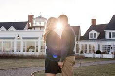 We love this gorgeous engagement shoot by Karena Dixon at Inn at Perry Cabin by Belmond on Maryland's Eastern Shore.