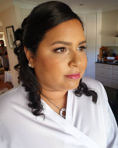 My amazing Bride! Makeup for her special day Bride Makeup, Wedding Makeup, Makeup Art, Stylists, Amazing, Artist, Hair, Instagram, Wedding Make Up