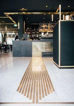 Art Deco Restaurant Bar 51 Ideas For 2019 Architecture Restaurant, Restaurant Interior Design, Design Hotel, Modern Interior Design, Architecture Design, Luxury Interior, Contemporary Interior, Restaurant Interiors, Gold Interior