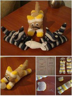 Sock Kitten Free Pattern