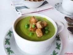 Supa crema de mazare verde   Foodieopedia Lunches, Tableware, Food, Green, Dinnerware, Eat Lunch, Tablewares, Essen, Meals