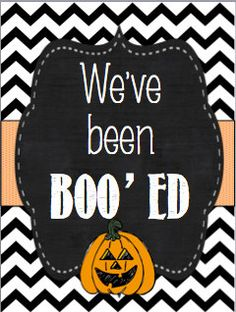 You've Been Boo'ed! {Instand Download} Ready to Boo!