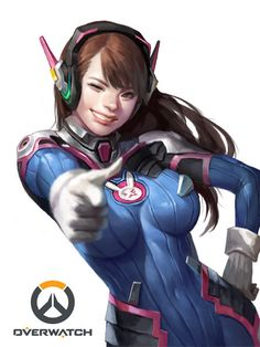 OverWatch D.va, Dongho Kang on ArtStation at https://www.artstation.com/artwork/La6ol