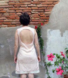 Robe d'allaitement encolure drapée élégante