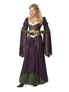 Lady In Waiting Women's Costume | Wholesale Renaissance Halloween Costumes for Womens