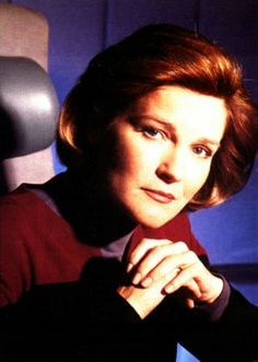 One of my favorite pictures of Kate Mulgrew as Kathryn Janeway.