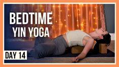 15 min Sleep Yoga – Day #14 (FULL BODY RELAXING YIN YOGA) Yin Yoga Sequence, Yin Yoga Poses, Yoga Sequences, Yin Yoga Benefits, Free Yoga Videos, Sleep Yoga, Yoga Youtube, Yoga Day, Vinyasa Yoga