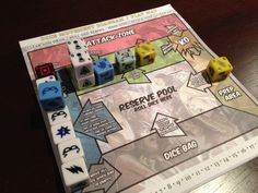Boardgames; Dice Masters; Photographer Tara Green