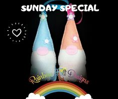 Sunday Special, Felt Gifts, Hanging Decorations, Felt Flowers, Small Businesses, Goodies, Rainbow, Colour, Christmas Ornaments