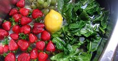 Remove Bacteria From Your Fruits And Veggies By Adding A Teaspoon Of This ~ Organic And Healthy