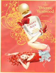 Vivienne Westwood's Cheeky Alice - love this ad! My best friends are red heads lol