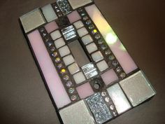MOSAIC Light Switch Plate   Single Switch by victoriacharlotte