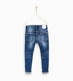 JEANS ESTAMPADO BOLSILLO Denim Jeans Men, Boys Jeans, Jeans Pants, Teen Boys, Kids Boys, Kids Wear, Children Wear, Striped Jeans, Girl Fashion