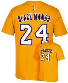 Men's adidas Los Angeles Lakers Kobe Bryant Mamba Name and Number Tee