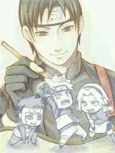 Fanart- Sai, Naruto, Sakura, Yamuto